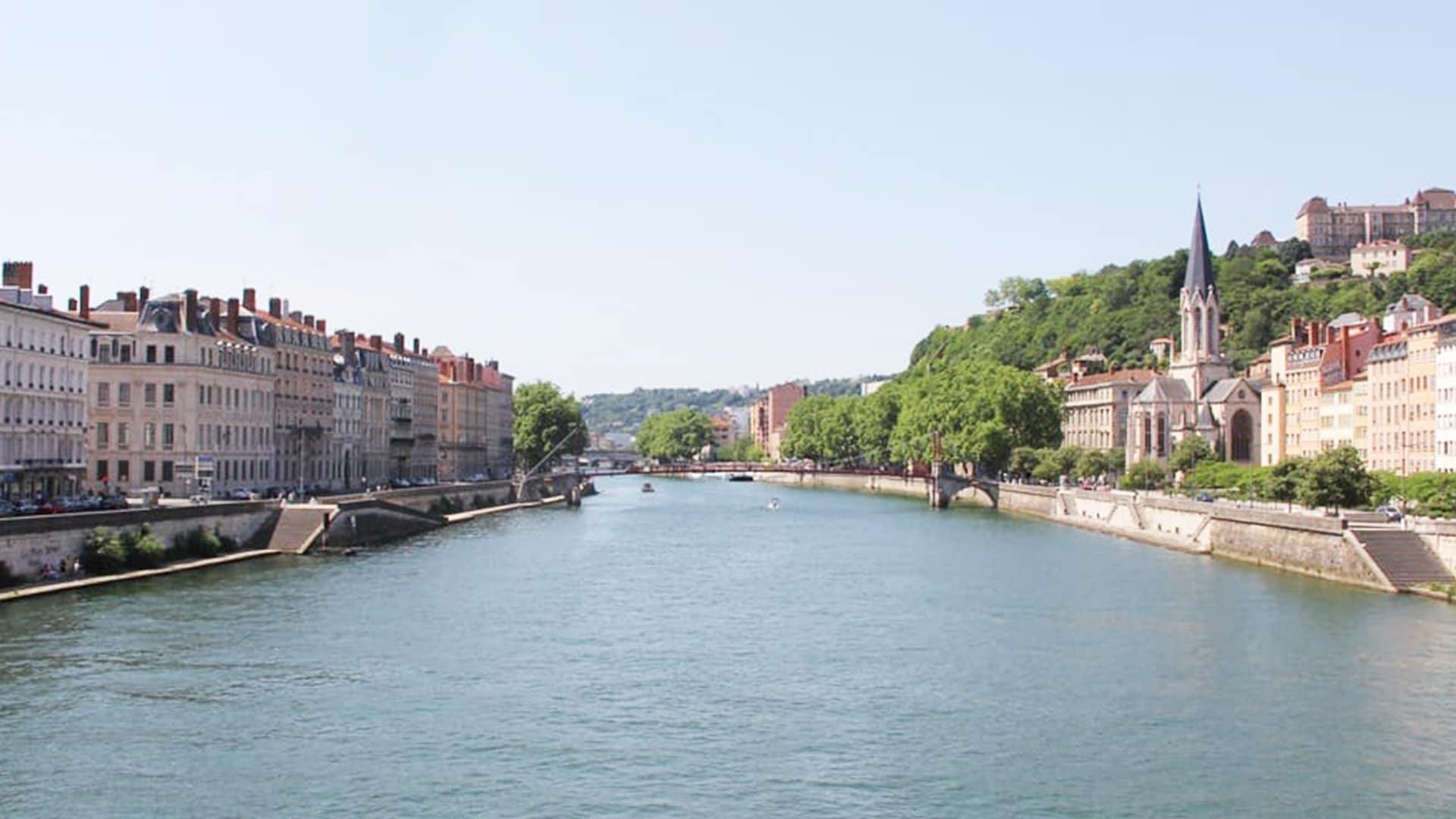 Visiter Lyon : quais de Saône