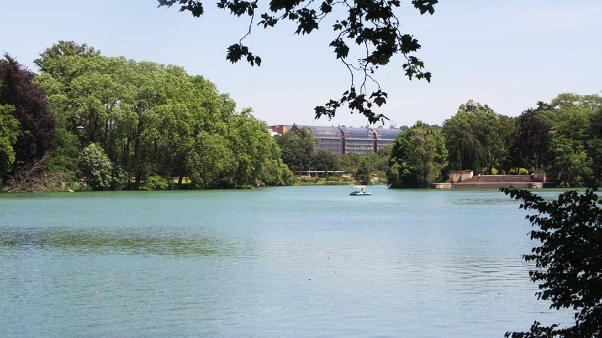Visiter Lyon : parc de la tête d'or