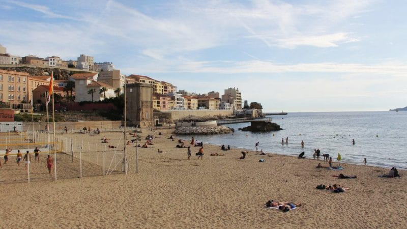 Visiter Marseille : la plage
