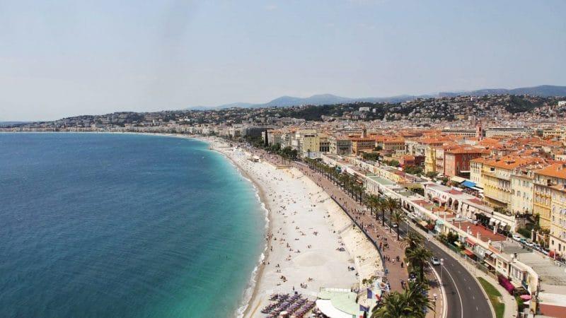 Visiter Nice : le parc de la Colline du Château