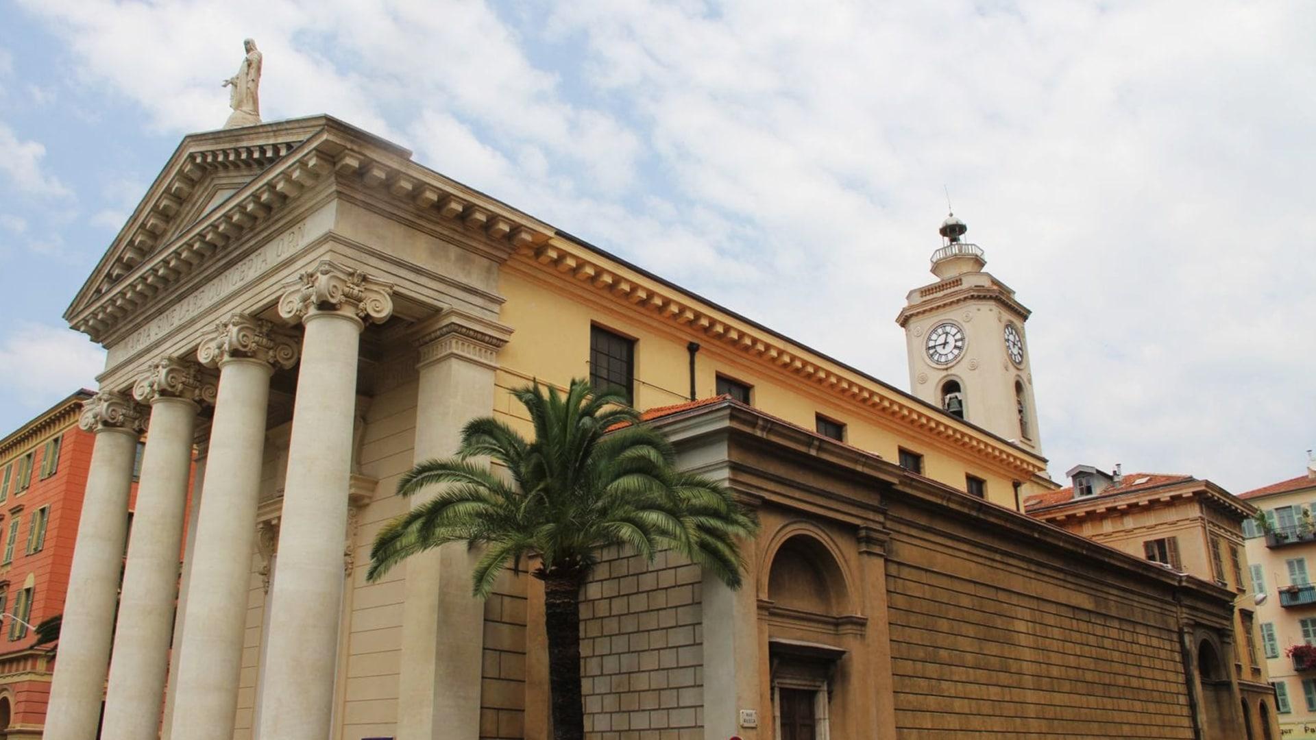 Visiter Nice : l'église Notre-Dame-du-Port