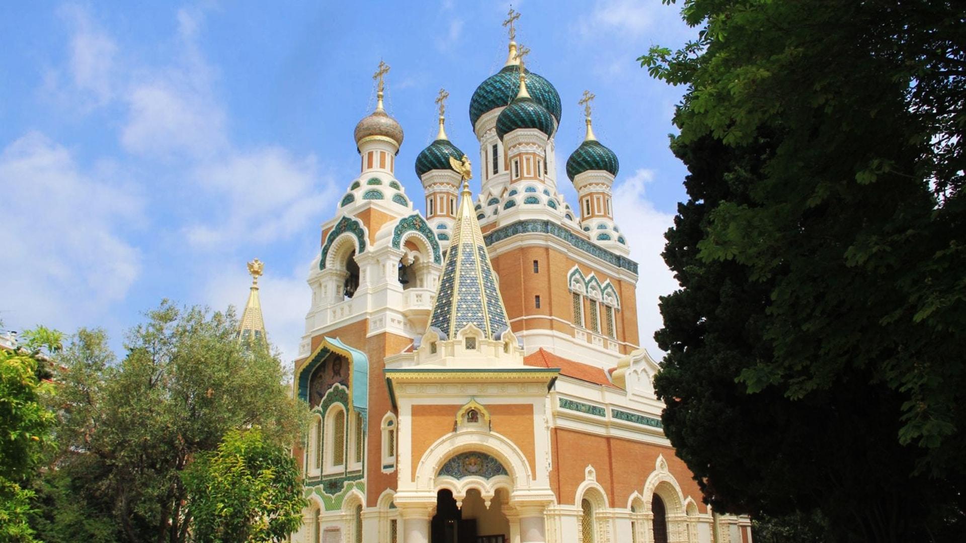 Visiter Nice : la cathédrale Saint-Nicolas