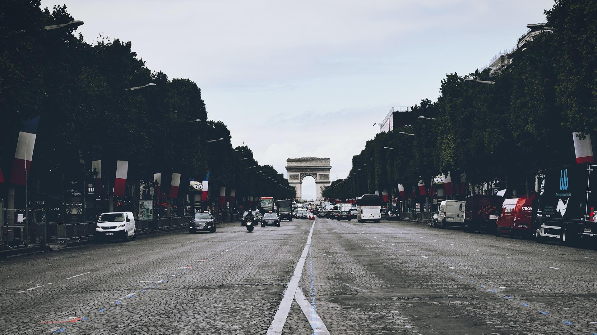Visiter Paris : les Champs-Élysées