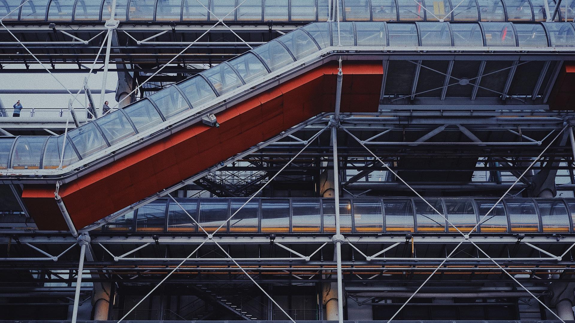 Visiter Paris : Centre Pompidou