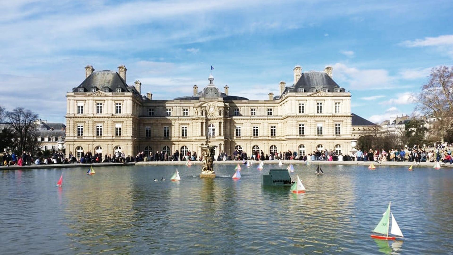 Visiter Paris : les jardins du Luxembourg