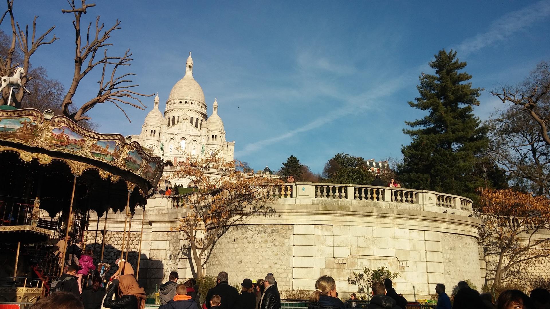 Visiter Paris : Basilique du Sacré-Coeur