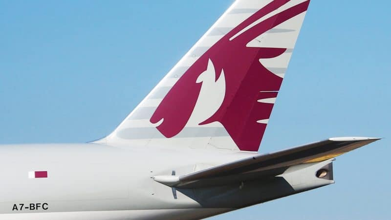 Avion de Qatar Airways