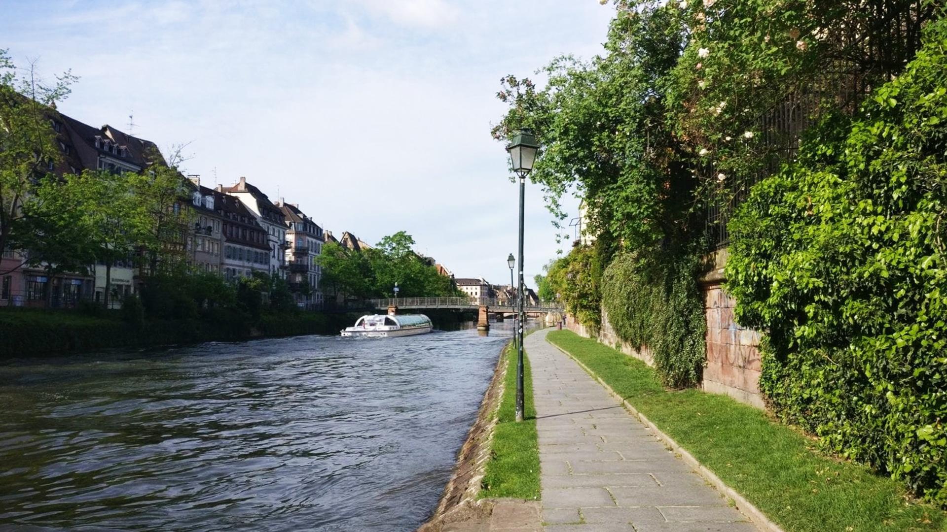 Visiter Strasbourg : les quais de Strasbourg