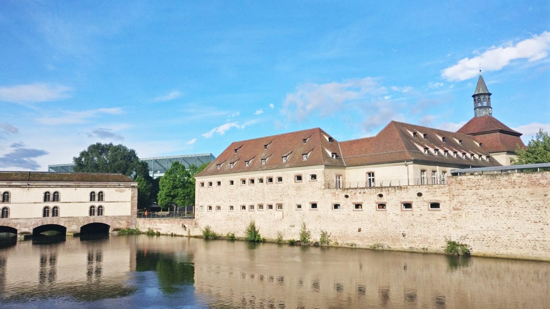 Visiter Strasbourg : le barrage Vauban
