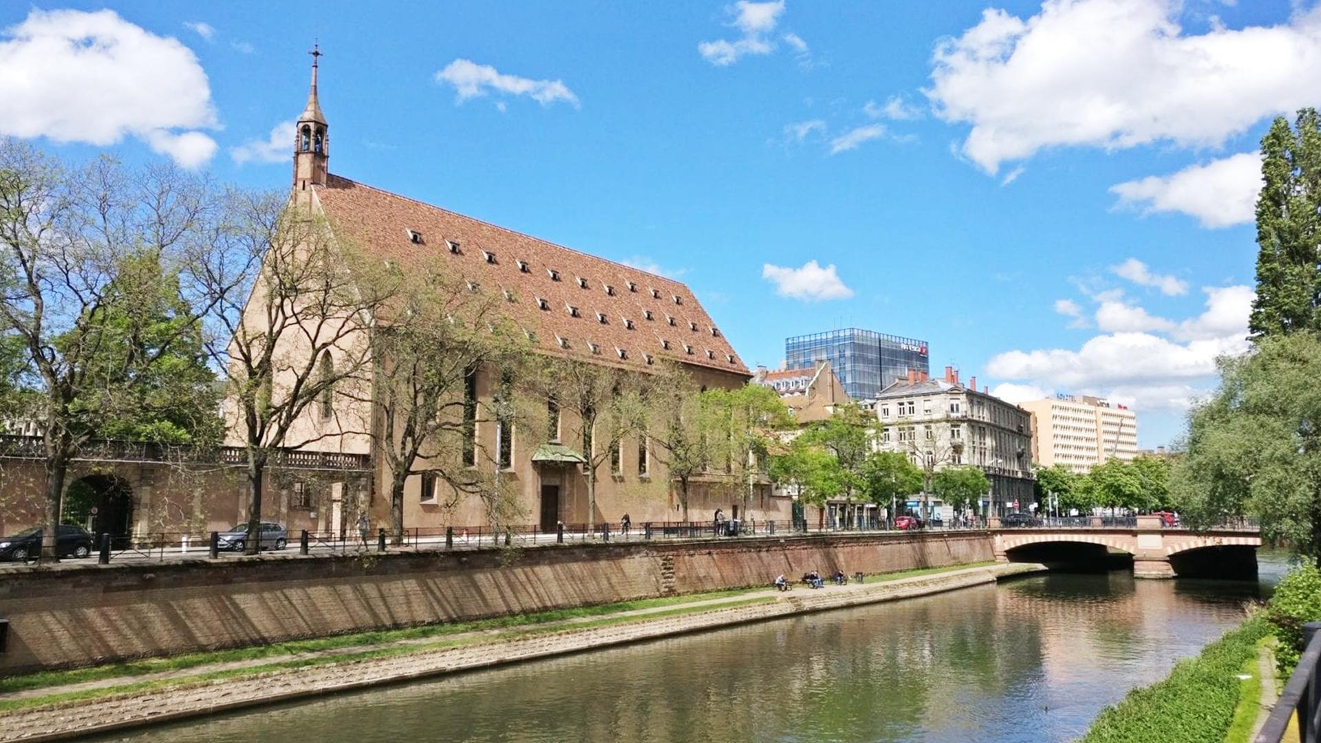 Visiter Strasbourg : Eglise Saint Jean