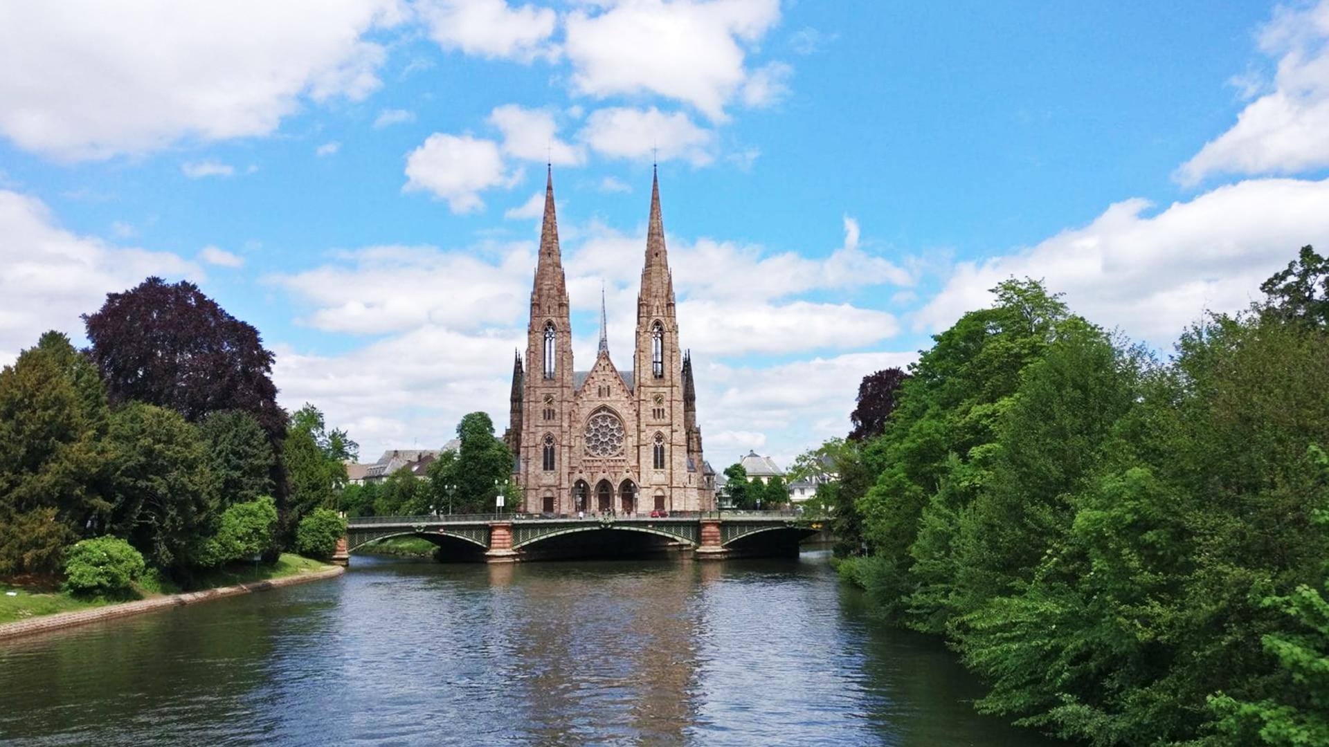 Visiter Strasbourg : Église Saint-Paul