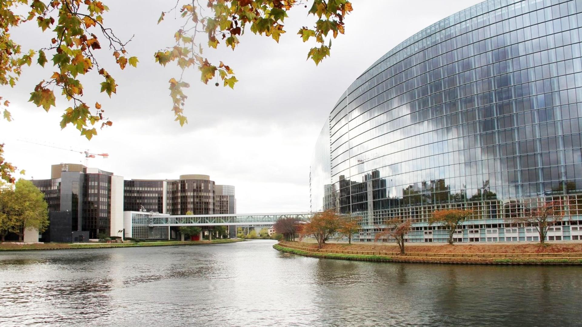 Visiter Strasbourg : parlement européen