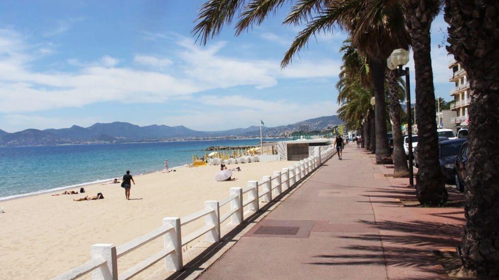 Visiter Cannes : les plages