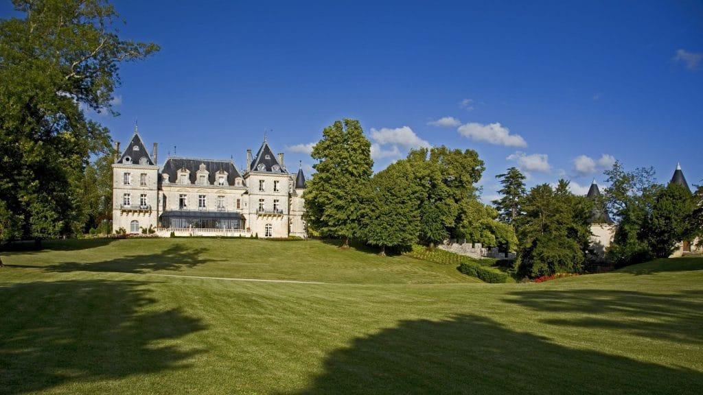 Les plus beaux hôtels Relais & Châteaux en France : le château Mirambeau