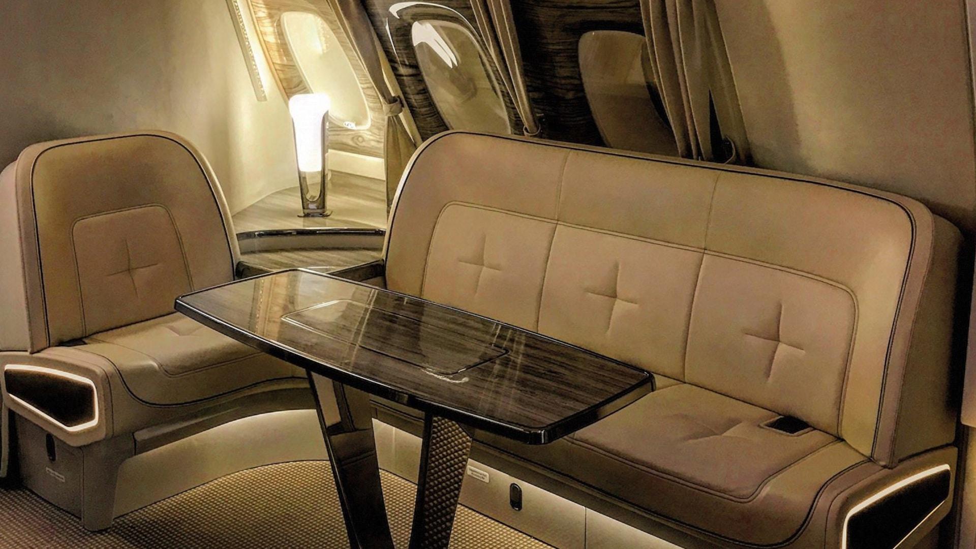 Classe affaires d'Emirates