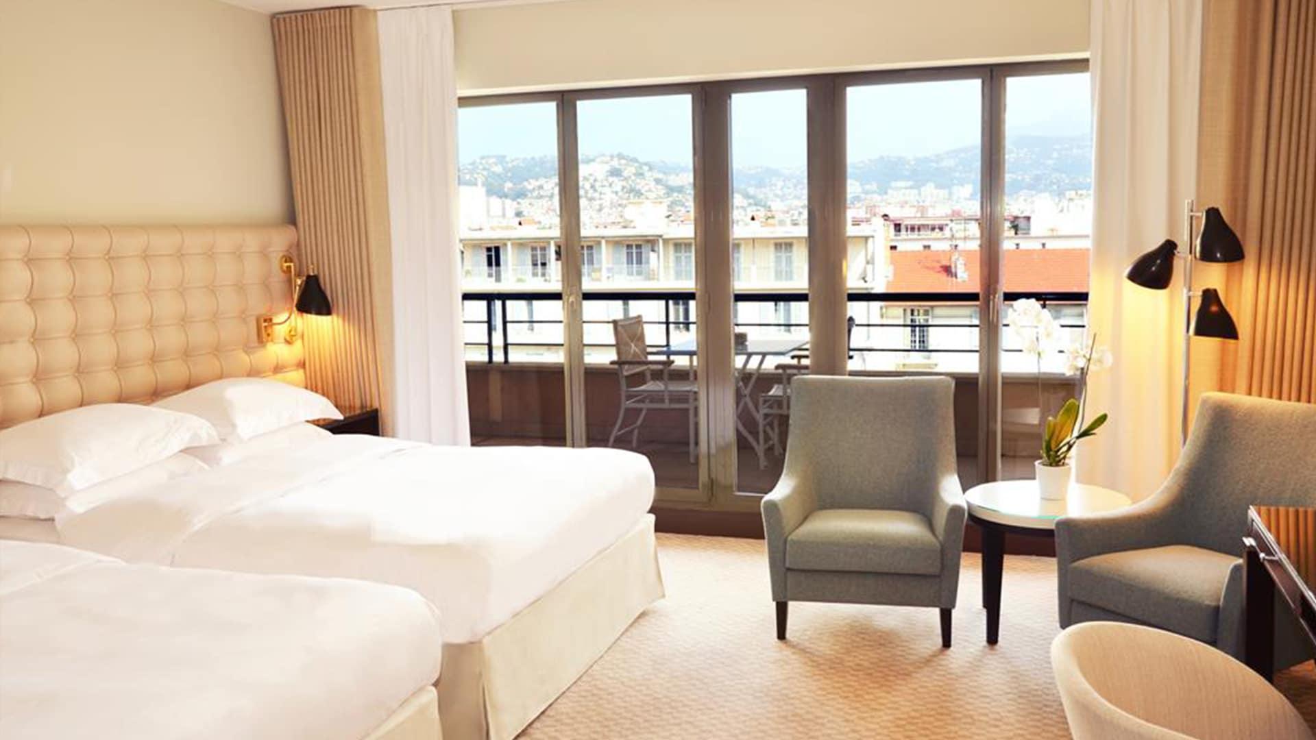 Chambre au Hyatt Regency Nice