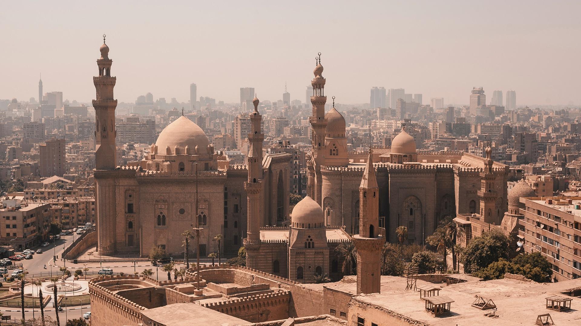 Le Caire, en Égypte