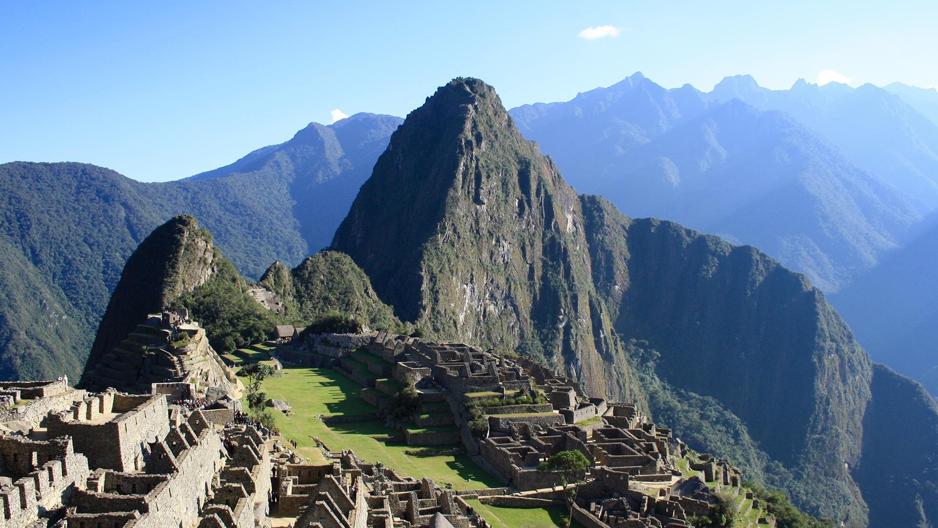 Machu Picchu, au Pérou