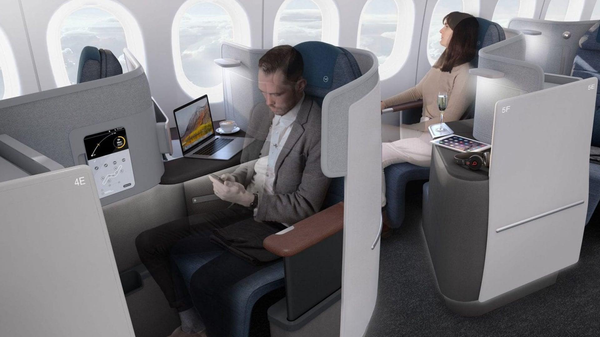 Classe affaires de Lufthansa