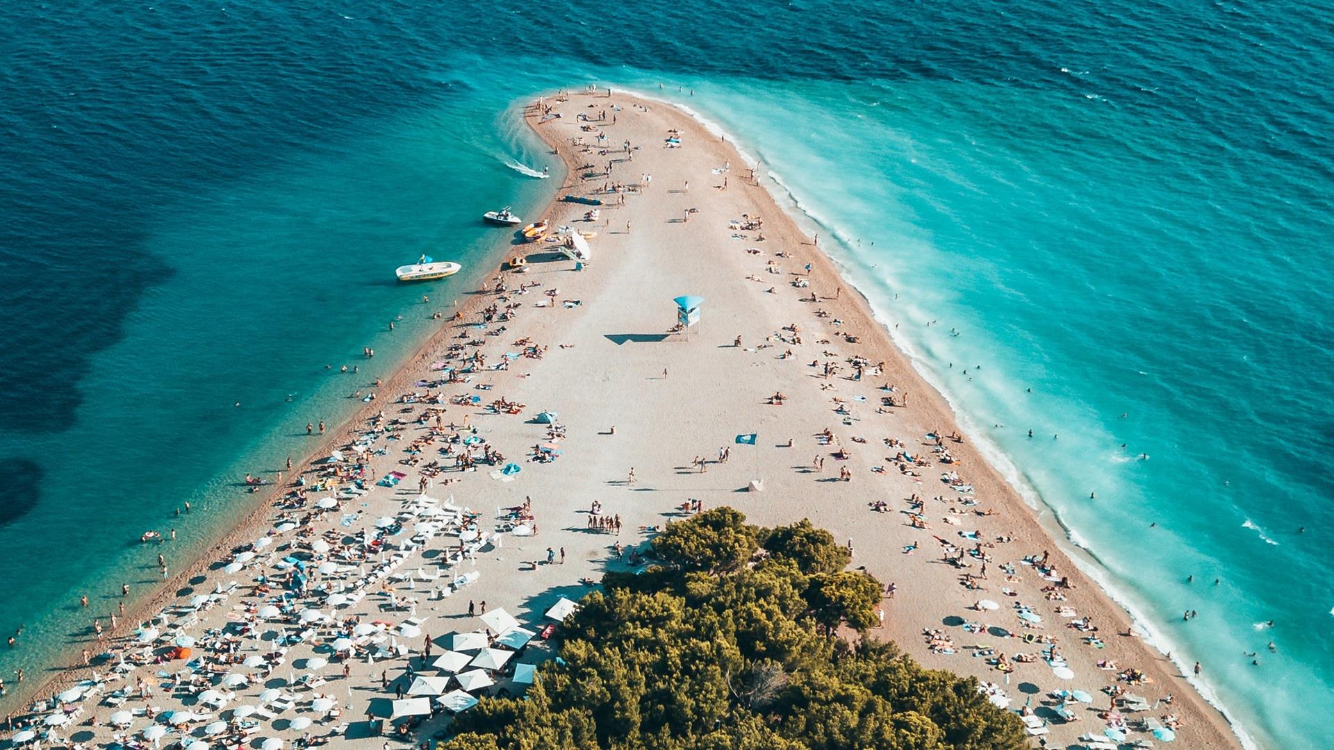 Île de Bol, en Croatie