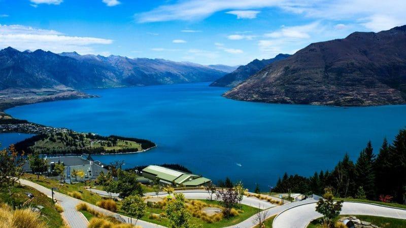 Queenstown, en Nouvelle-Zélande