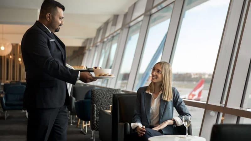 Salon d'aéroport de Qantas