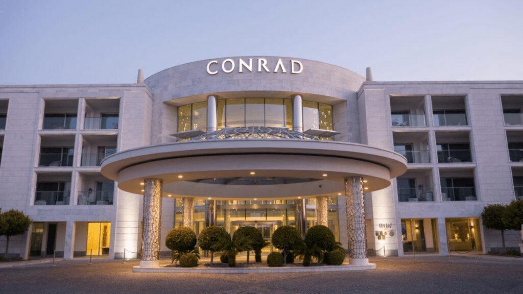 Conrad Algarve entrée