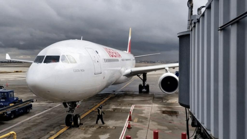 l'avion d'Iberia