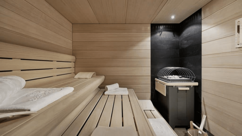 Sacher Salzburg Sauna