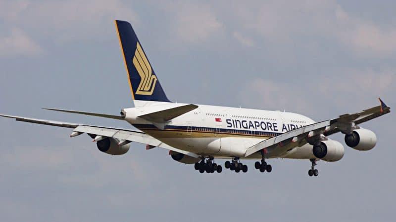 A380 de Singapore Airlines