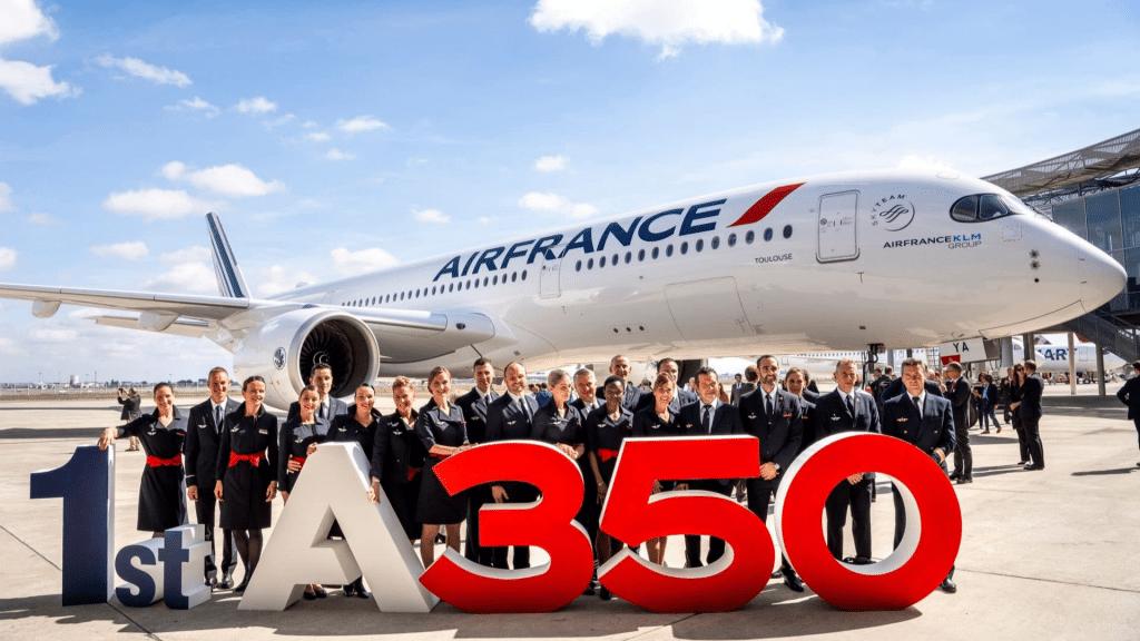 Air France Airbus A350 la Première