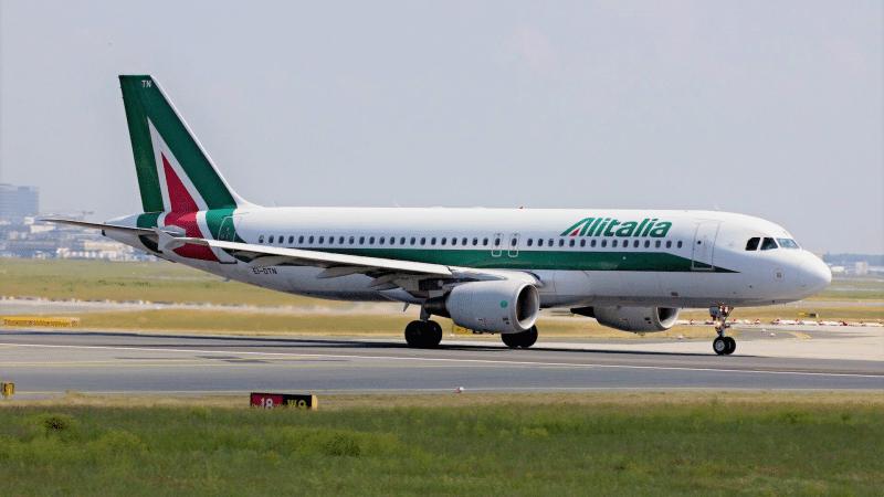 Alitalia Flugzeug