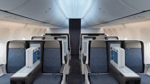 Singapore Airlines Boeing 737 Lie flat Seats
