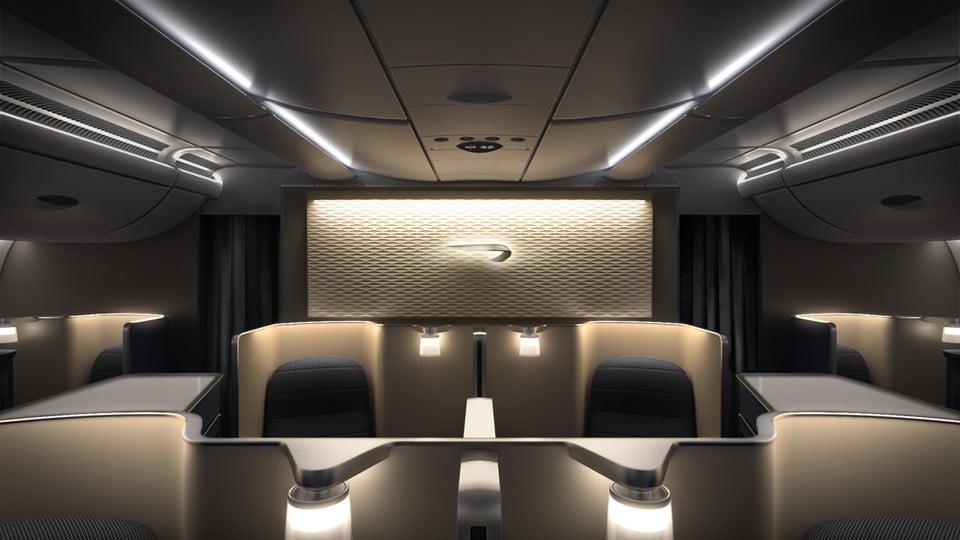 Première classe de British Airways