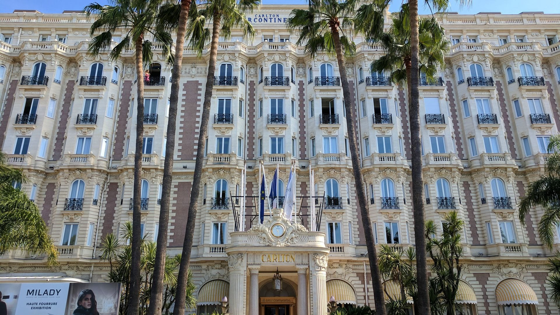 L'InterContinental Carlton à Cannes