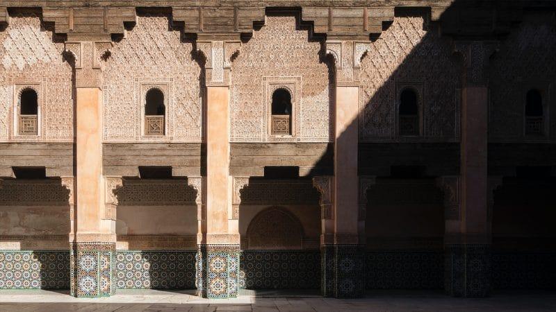 Marrakech, au Maroc