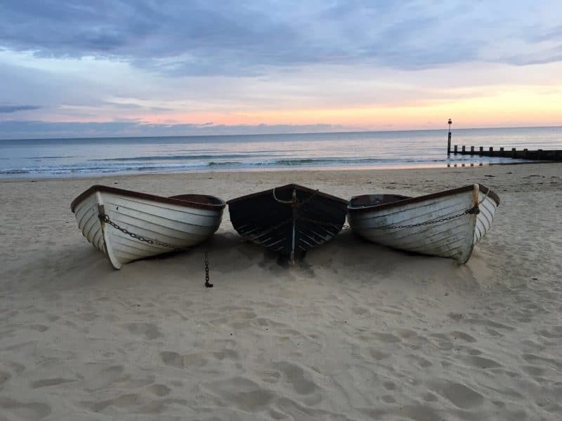 Bournemouth Beach Angleterre