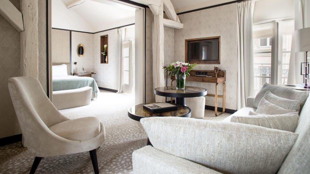 Esprit Saint Germain, l'un des plus beaux hôtels de luxe de Paris