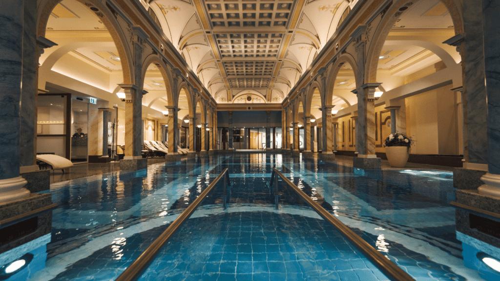 Hôtel spa Grand Resort Bad Ragaz en Suisse