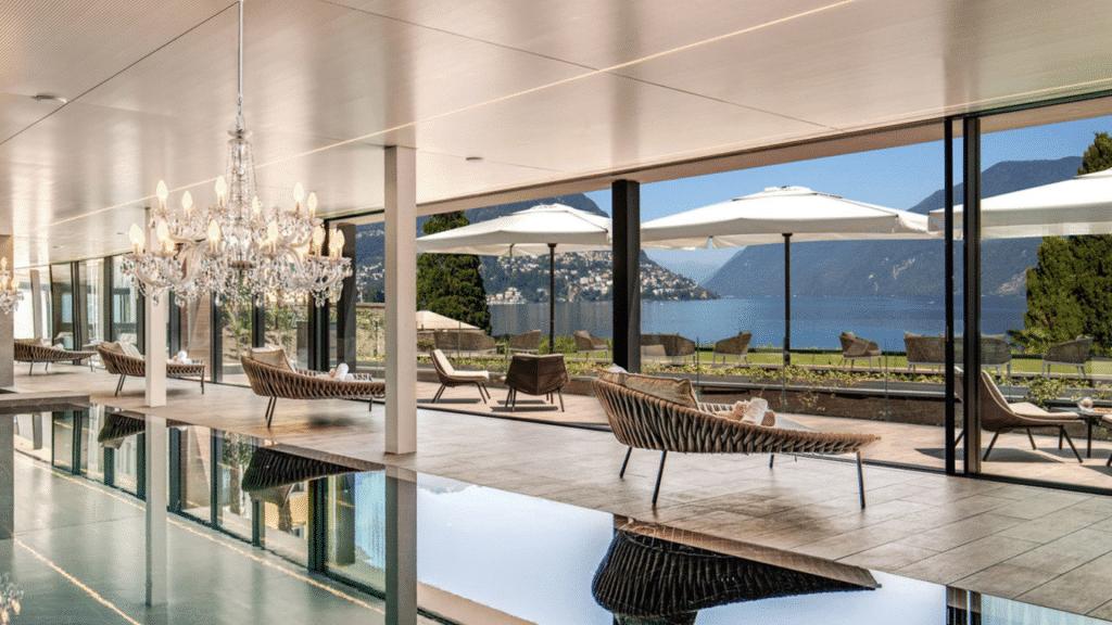 L'Hôtel spa Splendide Royal Lugano en Suisse