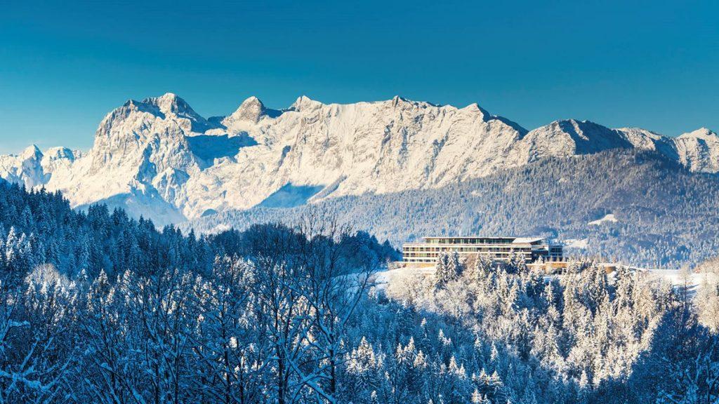 Hôtel spa Kempinski Berchdesgaden en Allemagne