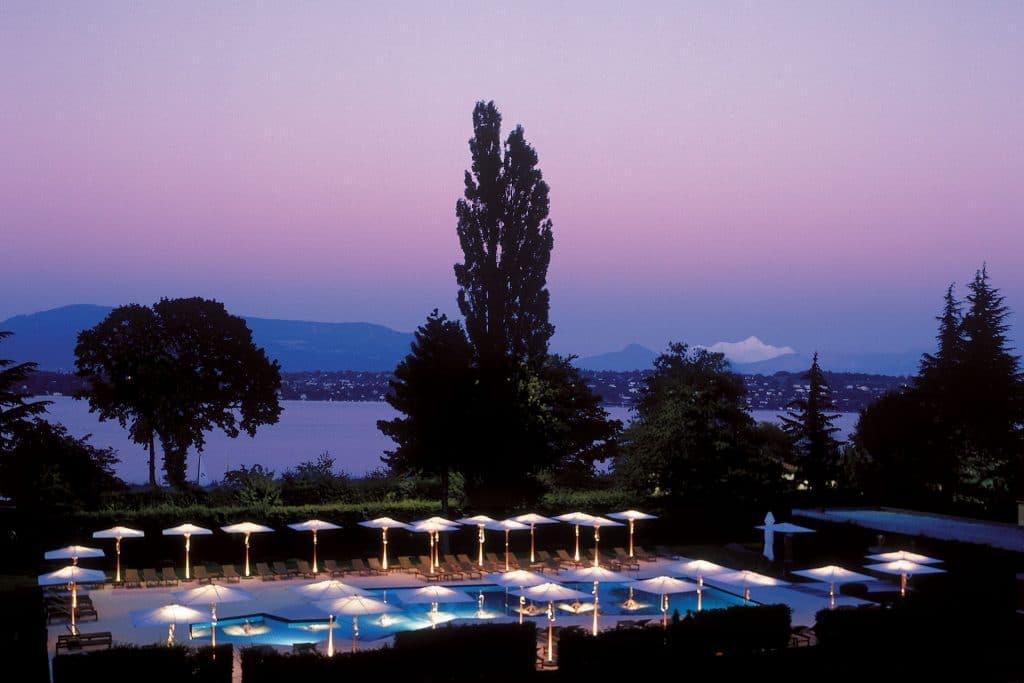 Hôtels spa La Réserve Genève en Suisse