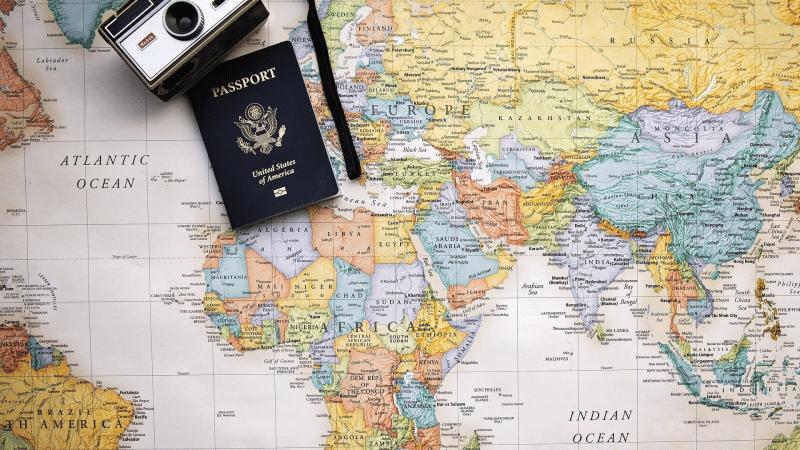 Passport, voyage