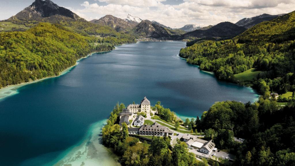 Hôtel spa Schloss Fuschl en Autriche