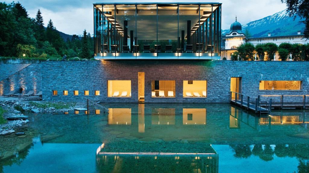 Waldhaus Flims Hôtel spa en suisse