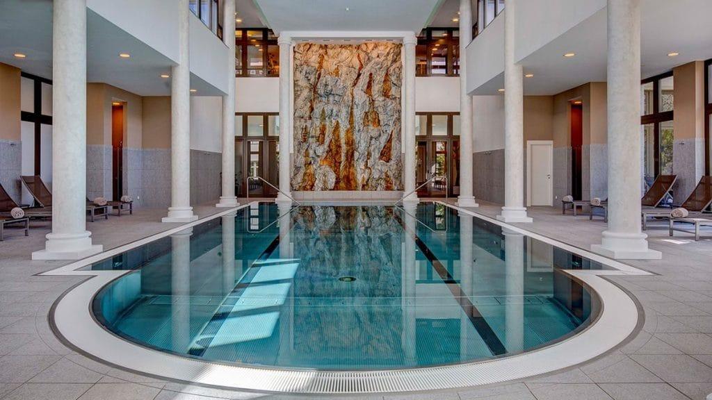 Hôtel Grand Des Bains Kempinski St. Moritzen Spa