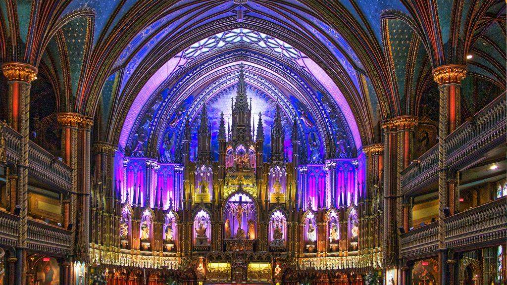 Basilique Notre-Dame à Montréal