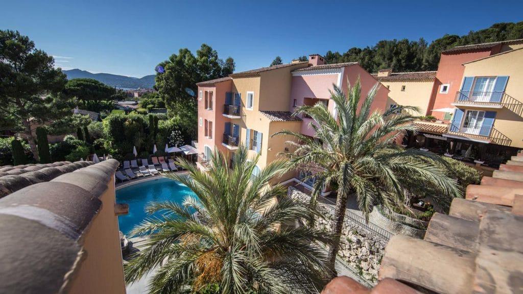 Le Byblos Saint-Tropez, l'un des plus beaux hôtels spa de luxe de la Côte d'Azur