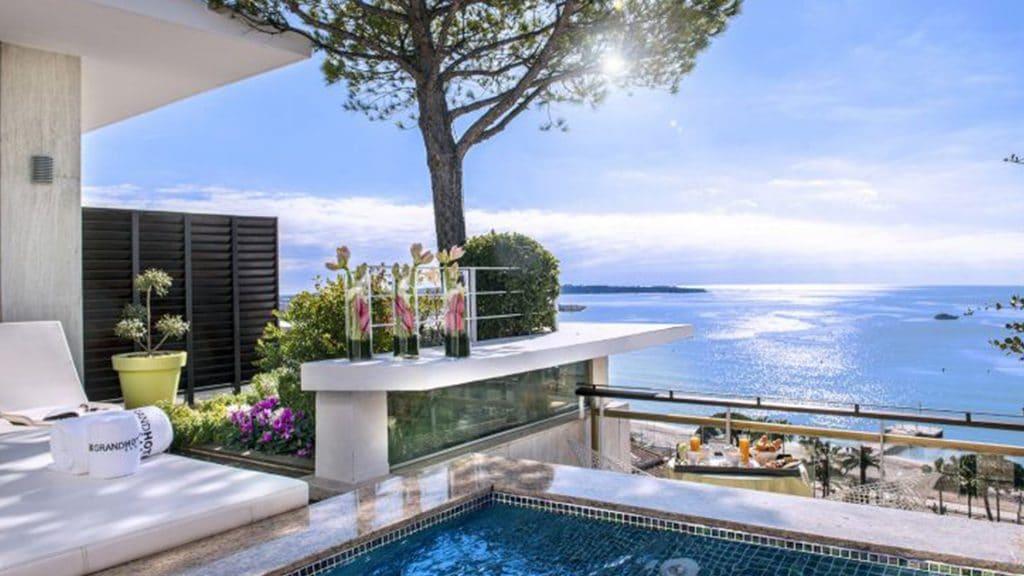 Le Grand Hôtel Cannes, l'un des plus beaux hôtels 5 étoiles de Cannes