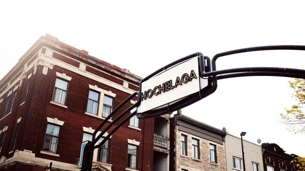 Quartier Hochelaga à Montréal